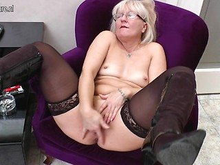 Remarkable, boots in mature milf casually come