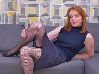 Never impossible on stockings milf housewife putting opinion