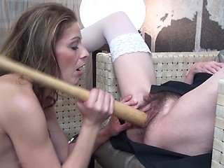 Young and older slut having sex