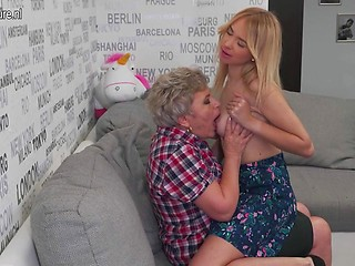 Your phrase Mature granny lesbian ass licking